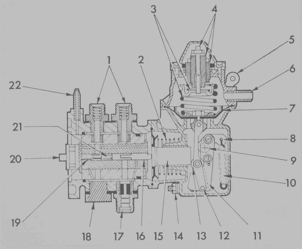 Triumph 25 Page 4 Crane Ignition Wiring Diagram Fit The New Filter With Side Marked In Connected To Reservoir Hose Release Clamps Tighten Securing Clip
