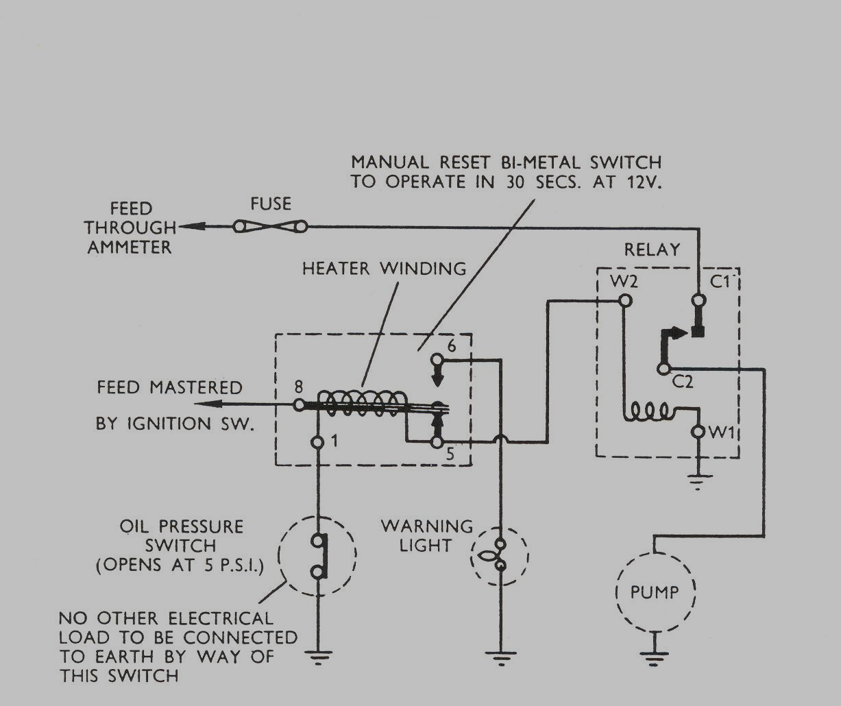 Reset Relay Wiring Great Design Of Diagram 11 Pin Latching With Manual Share The Knownledge Switch Circuit